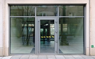 New Glass Entrance