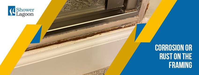 Corrosion or Rust on the Framing